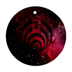 Bassnectar Galaxy Nebula Round Ornament (two Sides) by Onesevenart
