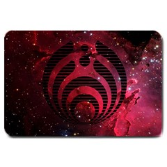 Bassnectar Galaxy Nebula Large Doormat  by Onesevenart