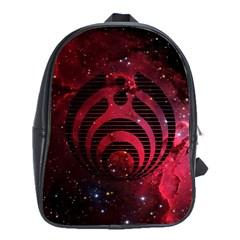 Bassnectar Galaxy Nebula School Bag (large) by Onesevenart