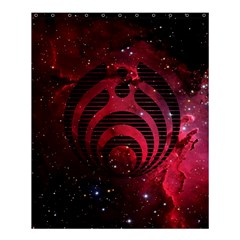 Bassnectar Galaxy Nebula Shower Curtain 60  X 72  (medium)  by Onesevenart