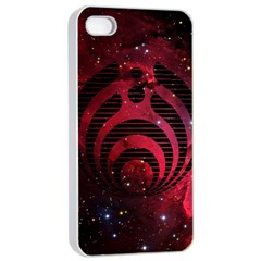 Bassnectar Galaxy Nebula Apple Iphone 4/4s Seamless Case (white) by Onesevenart