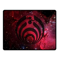 Bassnectar Galaxy Nebula Double Sided Fleece Blanket (small)  by Onesevenart