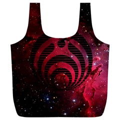 Bassnectar Galaxy Nebula Full Print Recycle Bags (l)  by Onesevenart
