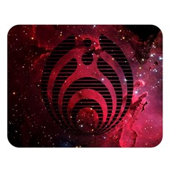 Bassnectar Galaxy Nebula Double Sided Flano Blanket (large)  by Onesevenart