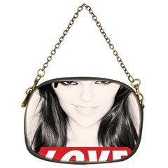 Sasha Grey Love Chain Purses (two Sides)  by Onesevenart