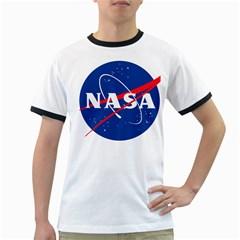 Nasa Logo Ringer T Shirts by Onesevenart