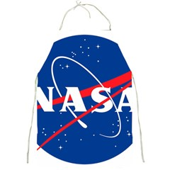 Nasa Logo Full Print Aprons by Onesevenart