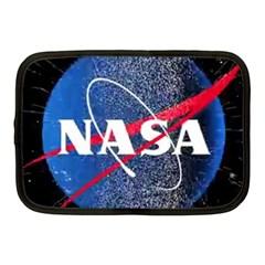 Nasa Logo Netbook Case (medium)  by Onesevenart