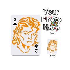 Michael Jackson Playing Cards 54 (mini)  by Onesevenart