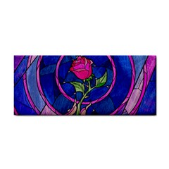 Enchanted Rose Stained Glass Cosmetic Storage Cases by Onesevenart
