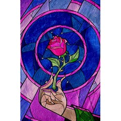 Enchanted Rose Stained Glass 5 5  X 8 5  Notebooks by Onesevenart