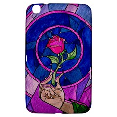 Enchanted Rose Stained Glass Samsung Galaxy Tab 3 (8 ) T3100 Hardshell Case  by Onesevenart