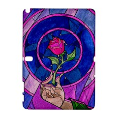 Enchanted Rose Stained Glass Galaxy Note 1 by Onesevenart