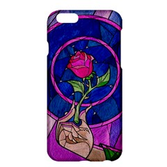 Enchanted Rose Stained Glass Apple Iphone 6 Plus/6s Plus Hardshell Case by Onesevenart