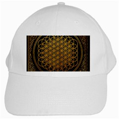 Bring Me The Horizon Cover Album Gold White Cap by Onesevenart