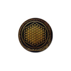 Bring Me The Horizon Cover Album Gold Golf Ball Marker (4 Pack) by Onesevenart
