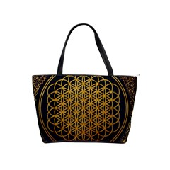 Bring Me The Horizon Cover Album Gold Shoulder Handbags by Onesevenart