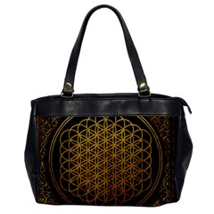 Bring Me The Horizon Cover Album Gold Office Handbags by Onesevenart