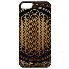 Bring Me The Horizon Cover Album Gold Apple Iphone 5 Classic Hardshell Case by Onesevenart