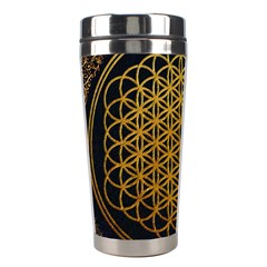 Bring Me The Horizon Cover Album Gold Stainless Steel Travel Tumblers by Onesevenart