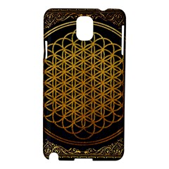 Bring Me The Horizon Cover Album Gold Samsung Galaxy Note 3 N9005 Hardshell Case by Onesevenart