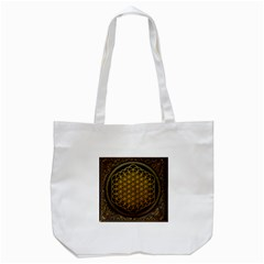 Bring Me The Horizon Cover Album Gold Tote Bag (white) by Onesevenart