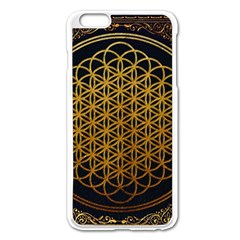 Bring Me The Horizon Cover Album Gold Apple Iphone 6 Plus/6s Plus Enamel White Case by Onesevenart