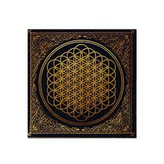 Bring Me The Horizon Cover Album Gold Satin Bandana Scarf by Onesevenart