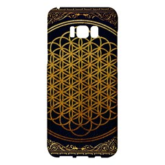 Bring Me The Horizon Cover Album Gold Samsung Galaxy S8 Plus Hardshell Case  by Onesevenart