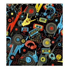 Music Pattern Shower Curtain 66  X 72  (large)  by Onesevenart
