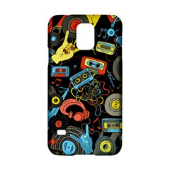 Music Pattern Samsung Galaxy S5 Hardshell Case  by Onesevenart