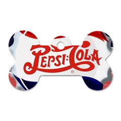 Pepsi Cola Dog Tag Bone (two Sides) by Onesevenart