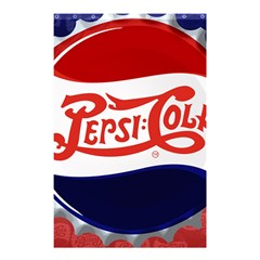 Pepsi Cola Shower Curtain 48  X 72  (small)  by Onesevenart