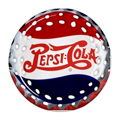 Pepsi Cola Round Filigree Ornament (two Sides) by Onesevenart