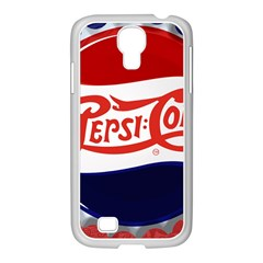 Pepsi Cola Samsung Galaxy S4 I9500/ I9505 Case (white) by Onesevenart