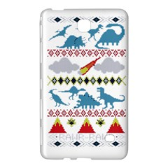 My Grandma Likes Dinosaurs Ugly Holiday Christmas Samsung Galaxy Tab 4 (8 ) Hardshell Case  by Onesevenart