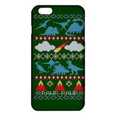 My Grandma Likes Dinosaurs Ugly Holiday Christmas Green Background Iphone 6 Plus/6s Plus Tpu Case by Onesevenart
