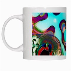 Multiscale Turing Pattern Recursive Coupled Stone Rainbow White Mugs by Mariart