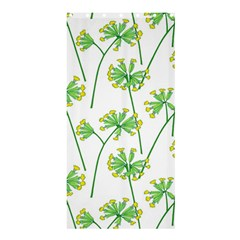 Marimekko Fabric Flower Floral Leaf Shower Curtain 36  X 72  (stall)  by Mariart
