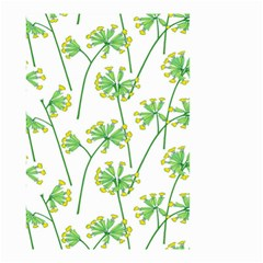 Marimekko Fabric Flower Floral Leaf Small Garden Flag (two Sides) by Mariart