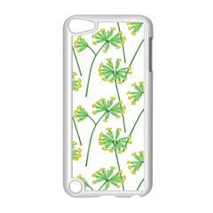 Marimekko Fabric Flower Floral Leaf Apple Ipod Touch 5 Case (white) by Mariart