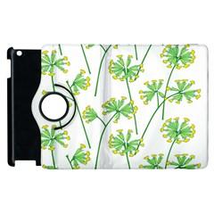 Marimekko Fabric Flower Floral Leaf Apple Ipad 2 Flip 360 Case by Mariart