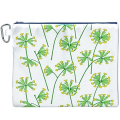 Marimekko Fabric Flower Floral Leaf Canvas Cosmetic Bag (xxxl) by Mariart