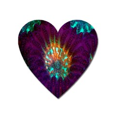 Live Green Brain Goniastrea Underwater Corals Consist Small Heart Magnet by Mariart