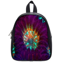 Live Green Brain Goniastrea Underwater Corals Consist Small School Bag (small) by Mariart