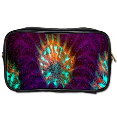 Live Green Brain Goniastrea Underwater Corals Consist Small Toiletries Bags 2 Side by Mariart