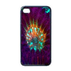 Live Green Brain Goniastrea Underwater Corals Consist Small Apple Iphone 4 Case (black) by Mariart