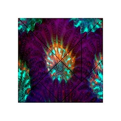 Live Green Brain Goniastrea Underwater Corals Consist Small Acrylic Tangram Puzzle (4  X 4 ) by Mariart