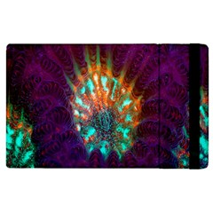 Live Green Brain Goniastrea Underwater Corals Consist Small Apple Ipad 2 Flip Case by Mariart