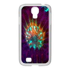 Live Green Brain Goniastrea Underwater Corals Consist Small Samsung Galaxy S4 I9500/ I9505 Case (white) by Mariart